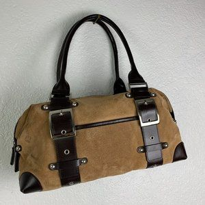 Wilson Leather Maxima Brown Tote Bag